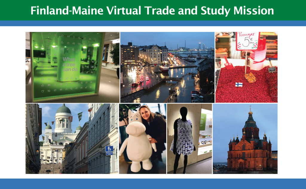 Finland-Maine 2020 Virtual Trade and study Mission graphic